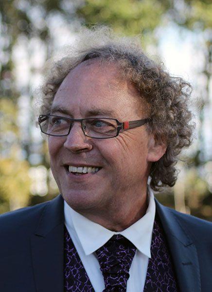 Didier Barbarit, officiant de cérémonie laïque